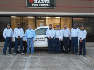 Hartz_Pest_Control_Houston_Pest_Control_Exterminators Posing For Group Picture
